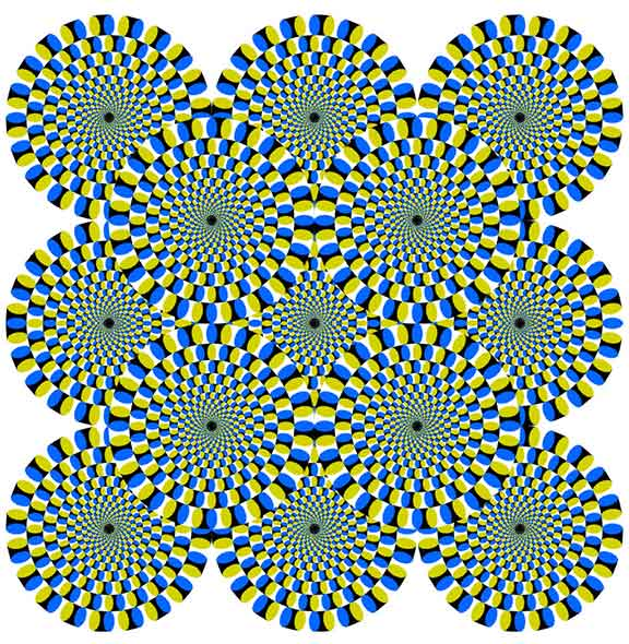 fool the eye, fun and games, optical illusions, static images