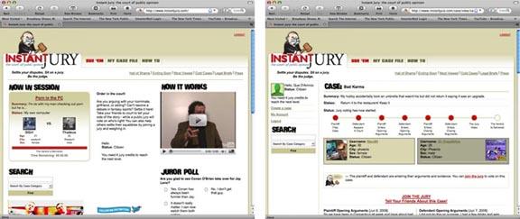 24-7 court, eSummoned, humor, mock jury, reality internet