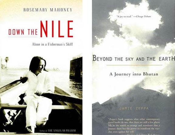 Bhutan, Egypt, Jamie Zeppa, off-the-beaten-path travel, personal journeys, Rosemary Mahoney, travel essays, travel writers, vicarious travel