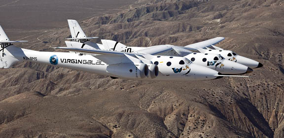 space tourism, Virgin Galactic, the curious g, civilian space travel, test flights