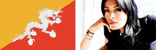 Miss Bhutan, Gross National Happiness, modernization, third-to-second world development, cultural priorities