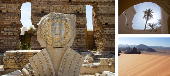 Travel in Libya, Visas for Americans to Libya, off-the-beaten-path travel, travel planning, North Africa travel, Leptis Magna ruins