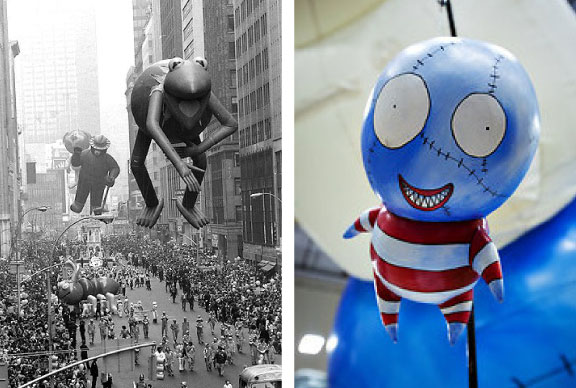 Thanksgiving Parade Balloon Inflation - AboutTravel