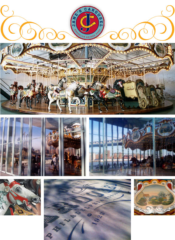 Jane's  Carousel, Brooklyn Bridge Park, NYC attractions, waterfront development, DUMBO community development