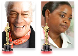 Christopher Plummer, best supporting act prediction 2012, Octavia Spencer, The Help, best supporting actress prediction 2012, academy awards