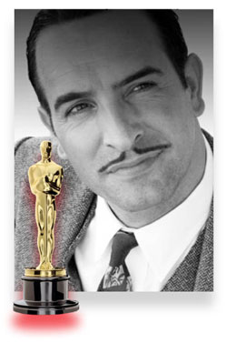 Jean Dujardin, The Artist, best actor prediction 2012, academy awards