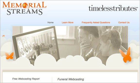 trends in burial services, technological changes, live-stream funerals, virtual funerals