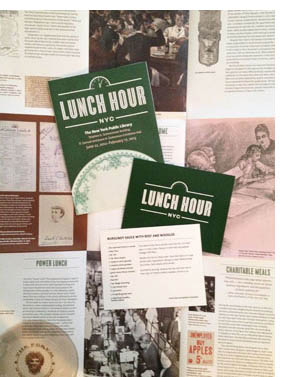 nypl exhibits, new york public library, lunch habits, NYC lunch trends, Automat, leisure time