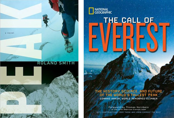 Mount Everest 2013, mountaineering, top climbers, books about climbing, Mount Everest projects, adventure stories, Peak, The Call of Everest
