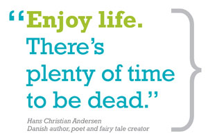 study of happiness, well-being measured, happiness reports, hans christian andersen quote