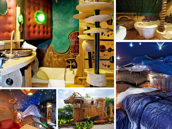 travel, travel accommodations, unusual hotels of the world, unique architecture, adventure travel, off-the-beaten-path, La Balade des Gnomes