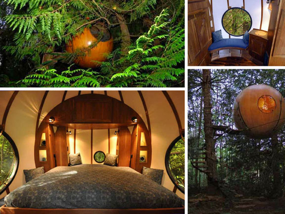 travel, travel accommodations, unusual hotels of the world, unique architecture, adventure travel, off-the-beaten-path, Free Spirit Spheres