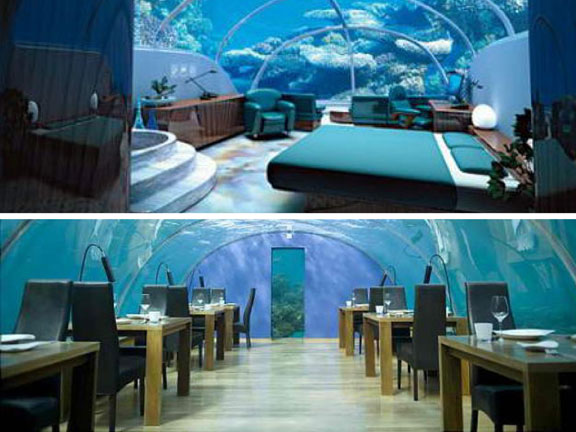 travel, travel accommodations, unusual hotels of the world, unique architecture, adventure travel, off-the-beaten-path, Jules' Undersea Lodge