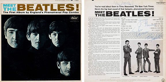 notable nights in entertainment, beatlemania, the beatles in the US, music milestones, 50th anniversaries, the ed sullivan show, cultural milestones, meet the beatles album