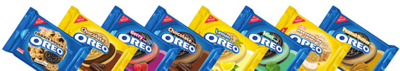 oreo cookies, limited-edition promotion, new flavors, product marketing