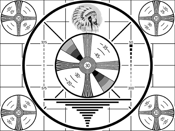 broadcast television celebrates 75 years, RCA, notable anniversaries, tv print ads, tv test pattern, history in the making