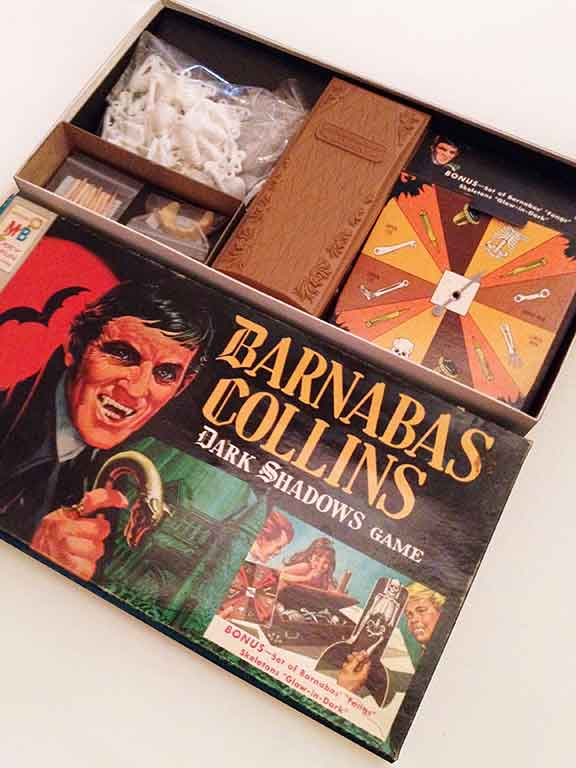 Barnabas Collins Dark Shadows Game, children's games, board games, vintage games and toys, entertainment, fun and humor,