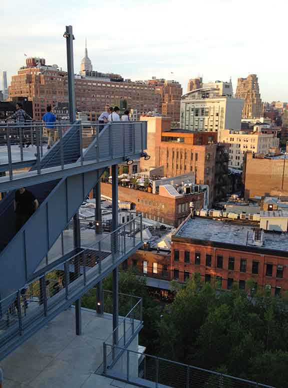 New Whitney Museum, Meatpacking District NYC, what's happening in new york, new york museums, review and commentary, urban architecture, art and spaces, High Line, American art, photo essay,