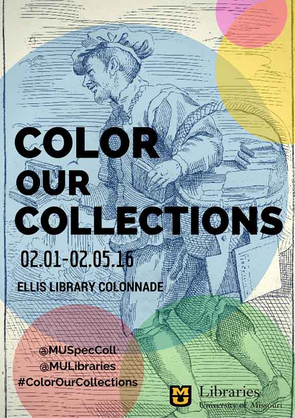 Color Our Collections Week 2016, digital collections, global libraries, public domain art, learn about libraries, fair use, adaptive art, shared art, coloring books, customizing art, Open Library, Folger Shakespeare LIbrary, New York Public Library (NYPL), University of Missouri Libraries