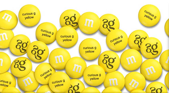 M&M's candies, 75th anniversary of M&M's, popular confections, M&M's Mars history, history of popular candy, official candy of WWII, M&M's brand, custom M&M's
