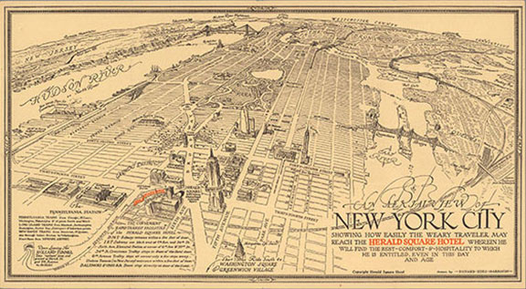 Old New York City, maps, global maps, historical maps and manuscripts, visual resources, historical photos, atlases, maritime charts, vintage graphics and typography, OldNYC Project, David Rumsey Map Collection