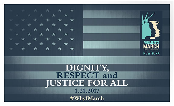 Women's March NYC, Women's March Washington DC, march for equality, civil rights, march for dignity, silence is not an option,