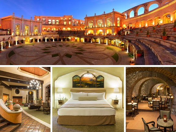 Zacatecas Mexico, bullring hotel, adventure travel, off-the-beaten-path travel, travel, travel accommodations, unique architecture, unusual hotels of the world