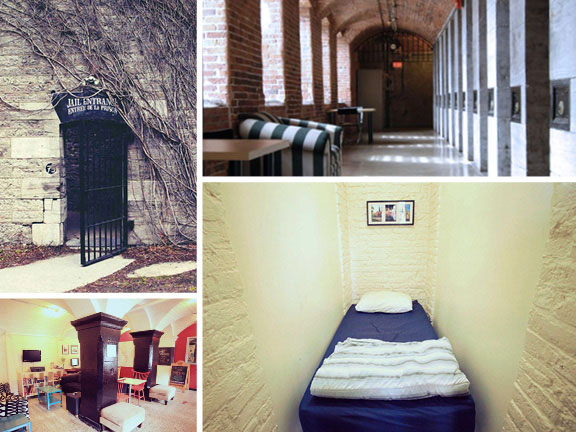 Ottawa Jail Hotel, adventure travel, off-the-beaten-path travel, travel, travel accommodations, unique architecture, unusual hotels of the world